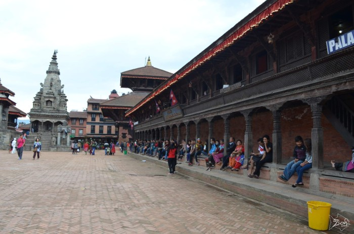 Midday in #Bhaktapur #Durbar_Square
