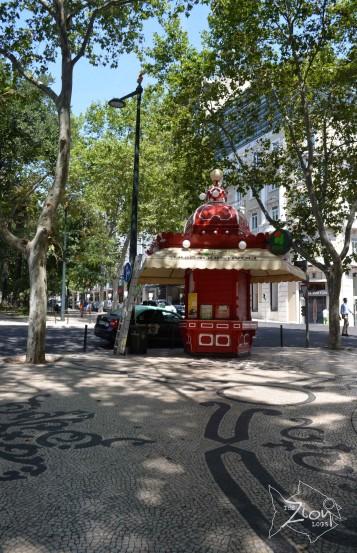 Av. da Liberdade, Lisbon. Portugal